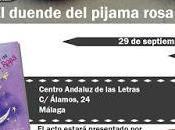 Presentación duende pijama rosa Málaga