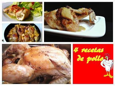 4 manera de preparar pollo paperblog for Maneras de preparar pollo