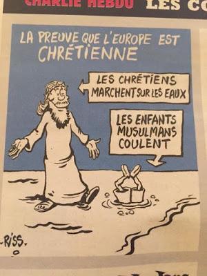 ¿Charlie Hebdo se burla del niño sirio Aylan Kurdi?