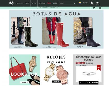 De compras en Magnoliamoda.com