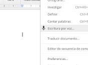 para escribir Google Drive