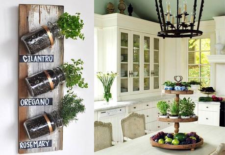 Huerto de plantas arom ticas en la cocina paperblog - Plantas aromaticas en la cocina ...