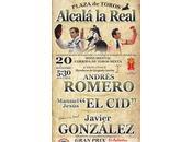 Andrés romero, javier gonzález, anunciados próximo domingo, septiembre alcalá real