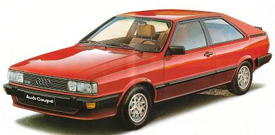 audi coupe gt 5e 1983 paperblog. Black Bedroom Furniture Sets. Home Design Ideas