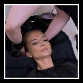 Balayage rubio platino en el cabello con poca raíz, paso a paso !