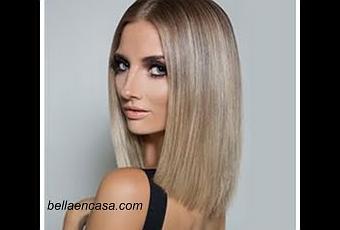 Balayage rubio platino en el cabello con poca raíz, paso a paso !! , Paperblog