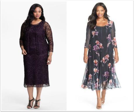 vestidos para madre novia talla grande