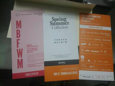 Pasarela Cibeles o MBFWM S/S 2016 ¿Nos sorprenderá?