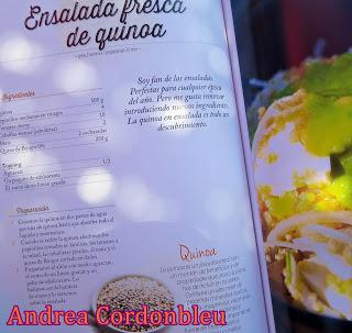Ensalada fresca de amaranto sin gluten receta proteica vegetariana paperblog - La cocina fit de vikika ...