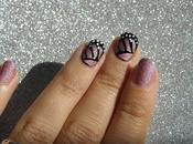 Nails art: alas mariposa