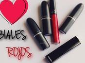 labiales rojos.