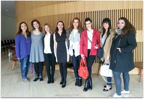 Foto de grupo durante el Cosmetiktrip2 a Madrid