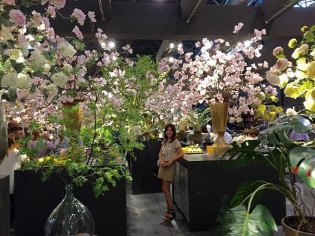 Maison & Object París 2015ecorar con flores, plantas