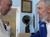 Sumo Pontífice reunió Fidel Castro fotos]