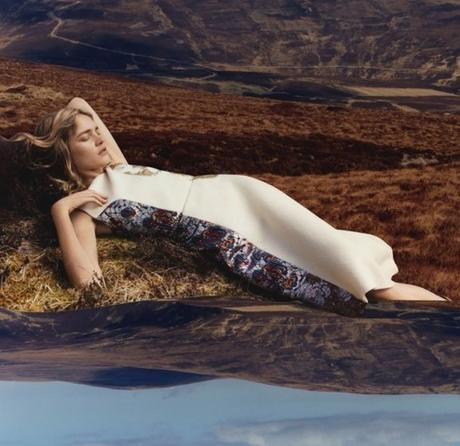 Vodianova para Stella McCartney