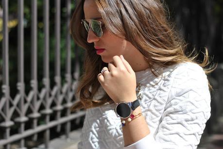 Black+White+Huawei Watch