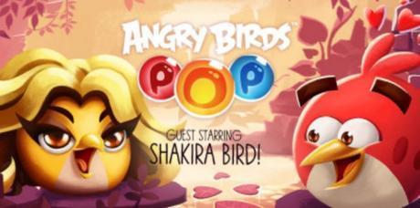 Shakira logra convertirse en un Angry Bird