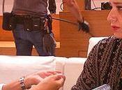 Entrevistamos Nuria Roca rodando spot para Olay