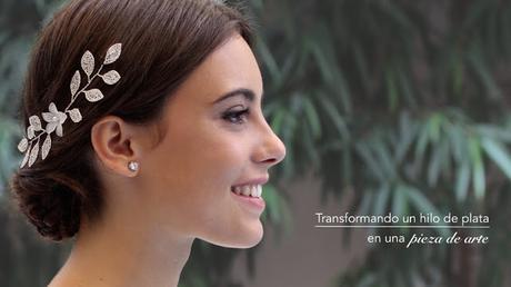 3d9ce5b9dc7f Nueva colección de tocados de novia de La Cala hilos de plata