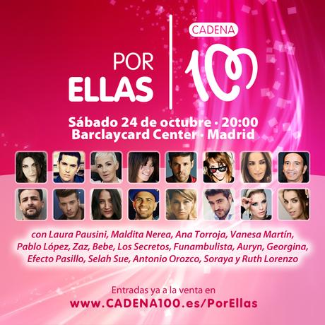 Por ellas 2015 - Cadena 100