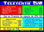 Teletexto TVE, antes Internet
