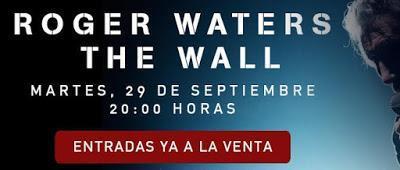 La película 'Roger Waters: The Wall', el 29 de septiembre en cines españoles
