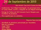 figura Luis Miguel Dominguín, conferencia Carlos Abella Valdeolmos-Alalpardo este sábado