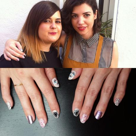 Uñas a mano alzada con pintura acrílica x Laura de Crazy ...