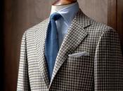 chaqueta Tweed cuadros.
