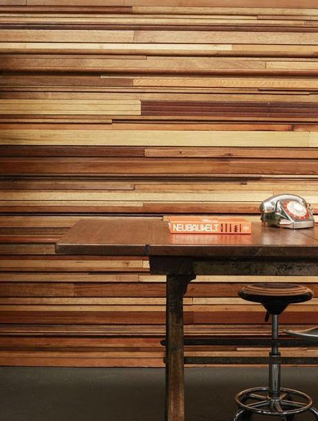 Paredes de madera paperblog - Madera en paredes ...