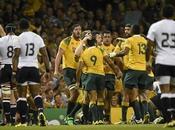 Mundial Rugby: Wallabies vencieron Fiji, pero punto bonus.