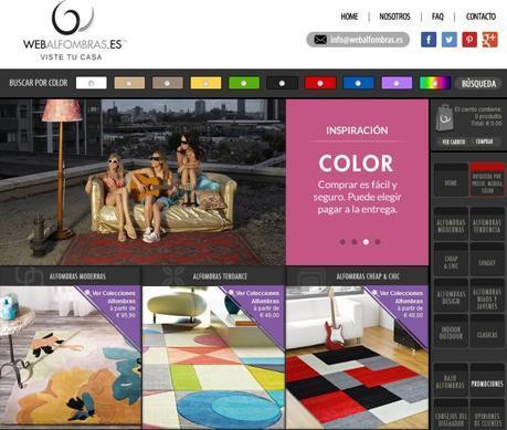 Webalfombras.es celebra 5 años de actividad