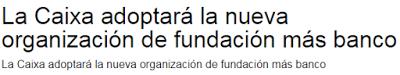 Accionistas Caixabank, Banca, CaixaBank, La Caixa, independentismo, boicot, blog caixabank, empleados caixabank