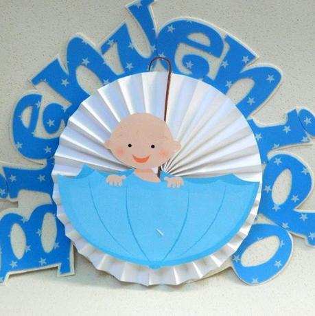 Centro De Mesa Para Baby Shower Paperblog