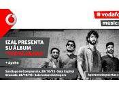 Izal Ayoho concierto mano Vodafone