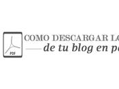 Descarga Post Blog