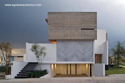 Casas modernas y contempor neas en m xico paperblog for Decoracion clasica contemporanea