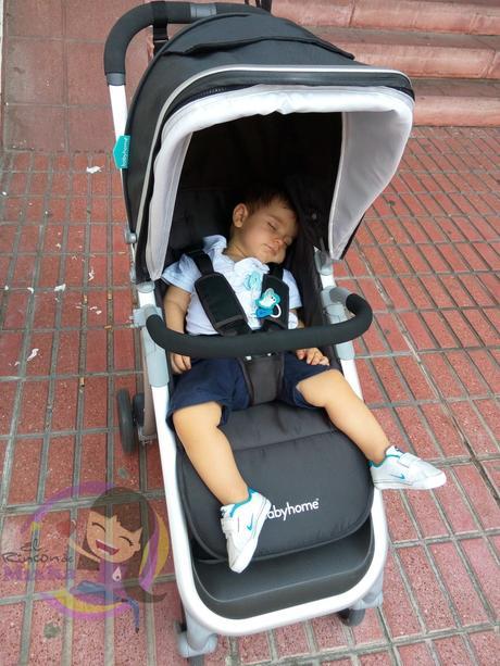 Nuestra silla de paseo ligera babyhome emotion paperblog - Silla babyhome vida ...