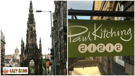 El fascinante restaurante de Paul Kitching 21212 en Edimburgo (Guía de Escocia VII)