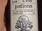 Born. Vela aromática aceites esenciales 100% natural