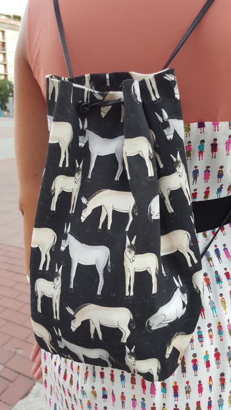 Vestido TitisClothing estampado festival