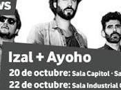 Vodafone Music Shows: IZAL Santiago Compostela Granada Octubre)
