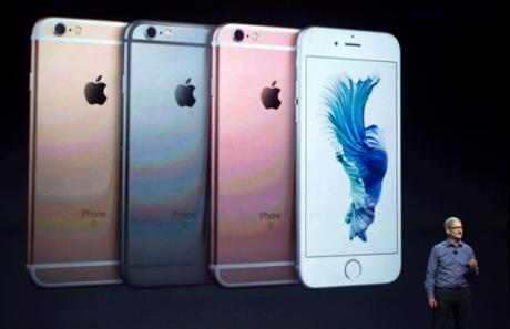 Apple confirma ventas record del iPhone 6s