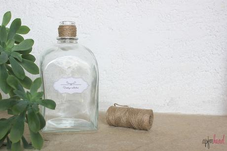 DIY: Botellas vintage