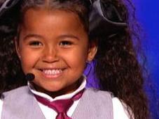 Esta niña asombrado mundo tras glorificar Cristo famosa competencia talento