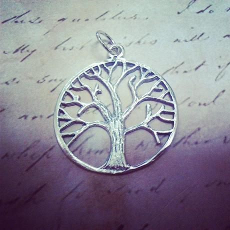 Arbol de la Vida en plata