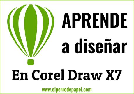 Corel Draw X7: textos y texturas - Paperblog