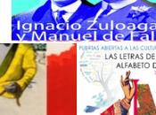 Agenda exposiciones: Dibujo Expándido, Zuloaga Falla, Kepa Garraza Alfabeto Europa.