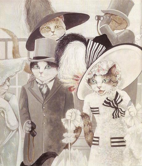 Los gatos de película de Susan Herbert