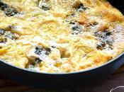 Frittata roquefort platano